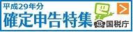 平成29年分 確定申告特集|国税庁